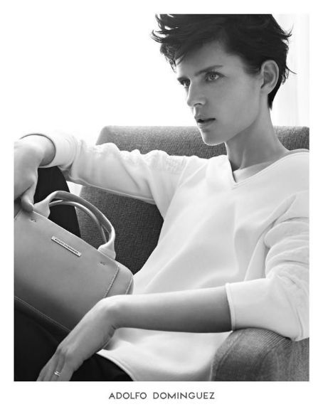 Stella Tennant for Theory Spring/Summer 2014 ad campaign