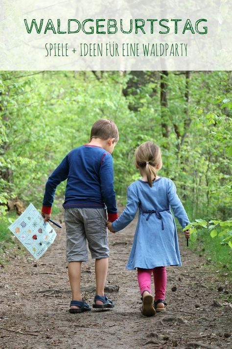 Discover nature with children: nature bingo – a search game for woods and meadows