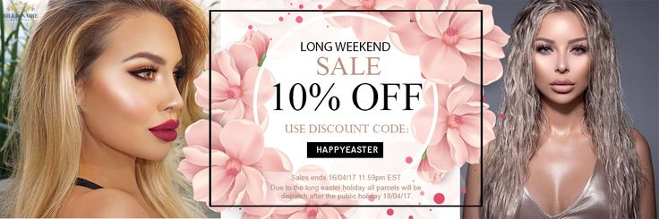 Use the DISCOUNT CODE and AVAIL 10% OFF this LONG WEEKEND SALE! Buy now and take advantage of this SALE before the supply last! www.billionairebeauties.com ♥ Stay Lovely Everyone! ♥