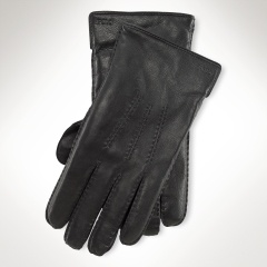Cashmere-Lined Leather Glove - Polo Ralph Lauren Sale - $69