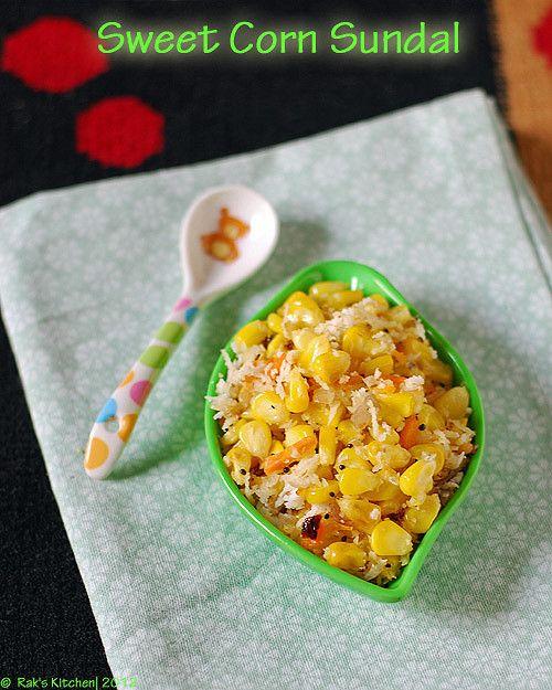 Sweet corn sundal recipe - Easy and tasty sundal recipe, south Indian way of…