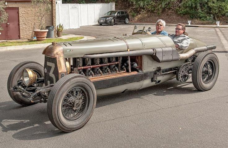 1917 Fiat Botafogo Special Jay Leno at the wheel....