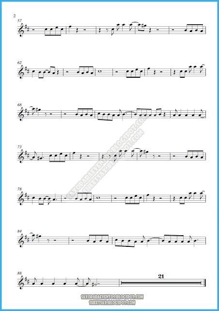 Partitura y pista de Lamento Boliviano de Enanitos Verdes | Partituras y pistas para saxo | Sheet music and Play Along for sax