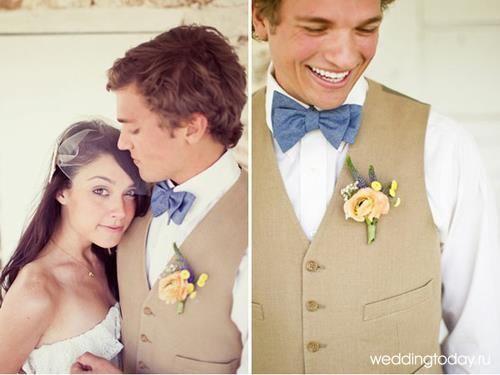 Мужской летний костюм на свадьбу