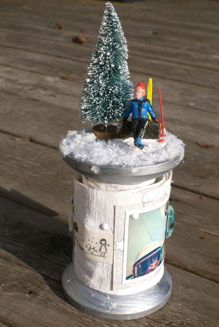 Mini hivernal en 4heures37-éphéméria- By EdithR
