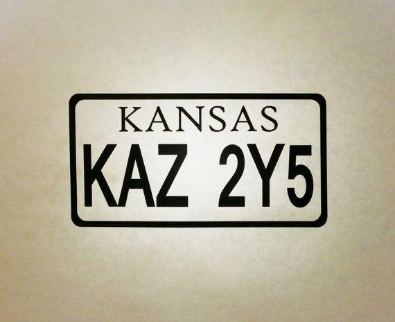 Supernatural Inspired 67 Chevy Impala Kansas by WeirdlyItsMe, $4.69