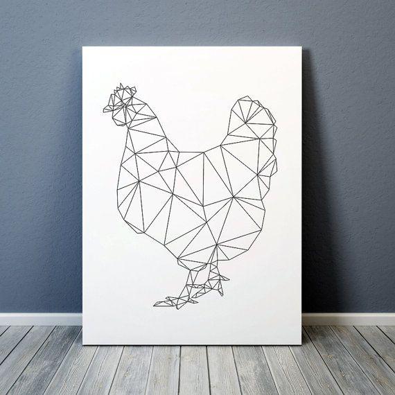Best 25 geometric bird ideas on pinterest geometric for Art minimal livre