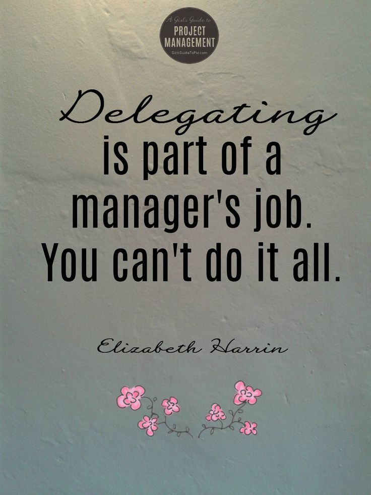 Delegating is part of a #manager's job. You can't do it all! Find out how to delegate here.