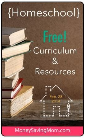 Check out the FREE Homeschool Curriculum & Resources you can download for the week of February 28, 2014.