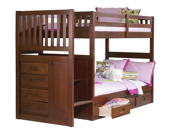 Carlu0027s Furniture City   Mission Merlot Twin Over Twin Staircase Bunkbed,  $499.00 (http: