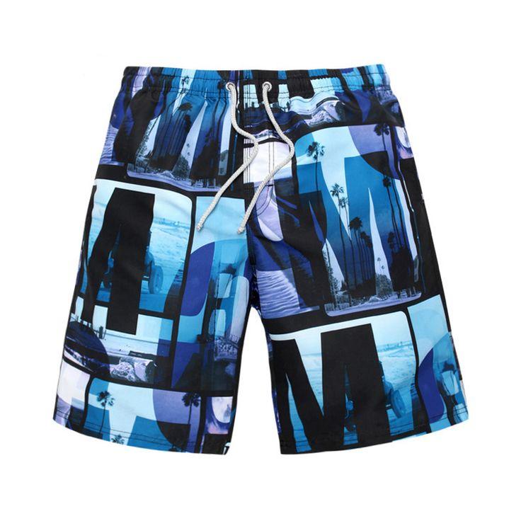 Male Brand beach shorts Men running sports shorts basketball shorts man swimwear swimsuit boardshorts men surf shorts bermuda