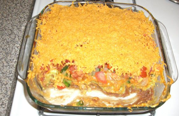 7 layer dip food recipes pinterest for Absolutely delish cuisine