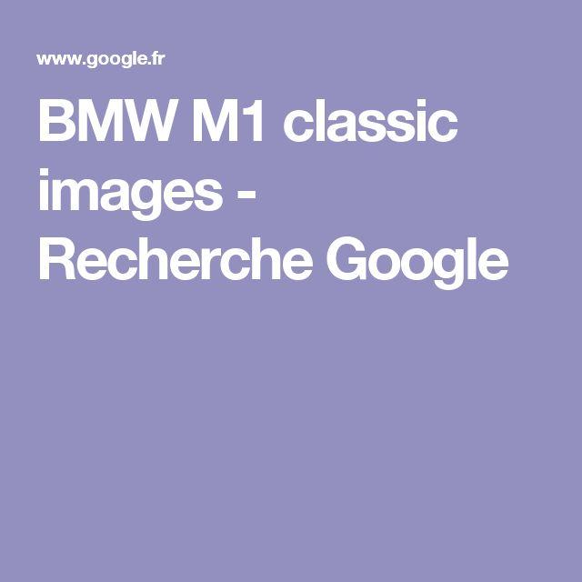 BMW M1 classic images - Recherche Google