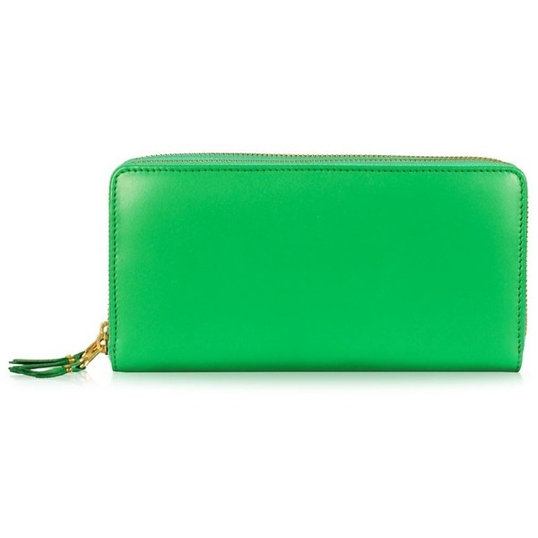 zipped coin pouch - Green Comme Des Gar?ons