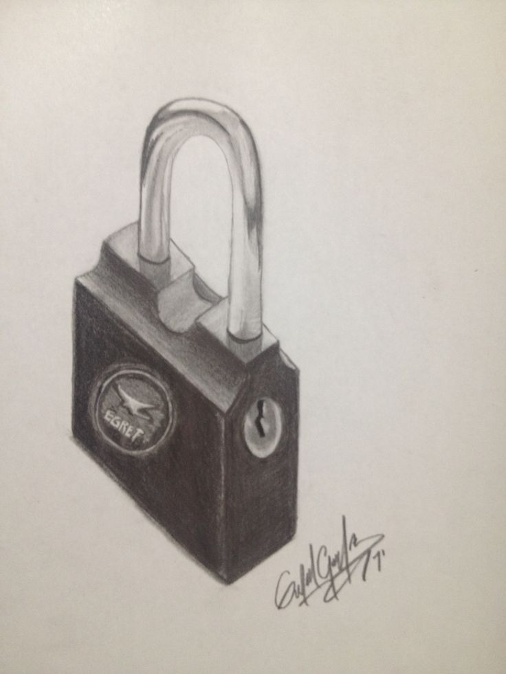 letter a objects pictures padlock this is my drawing since ago mis 8227