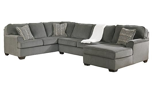 Loric - Smoke Sectional. Ashley Furniture. I LOVE this sectional. it would actually match our living room stuff ;D