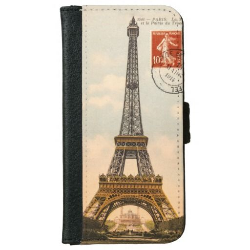 Vintage Eiffel Tower iPhone 6 Case