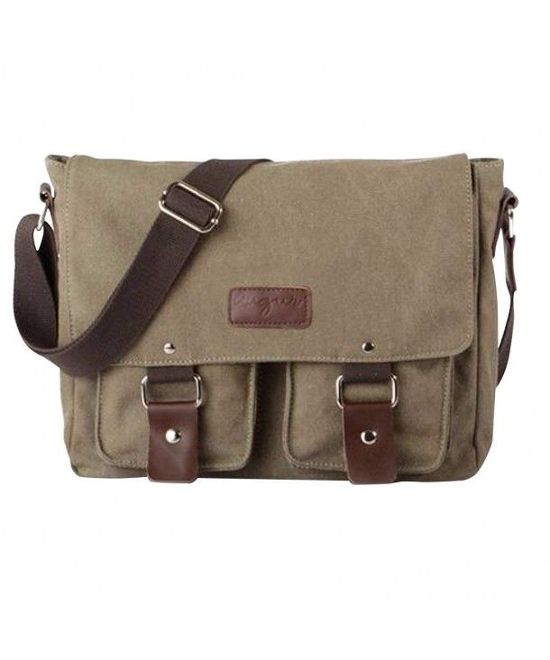 806444ef4b24 Luggage & Travel Gear, Messenger Bags,Men's Womens Unisex Canvas ...