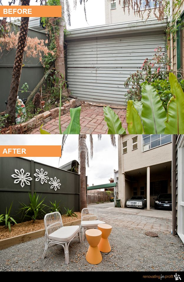 #Backyard #Courtyard #Renovation See more exciting projects at; www.renovatingforprofit.com.au