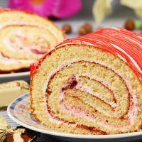 Peppermint roll cake recipe