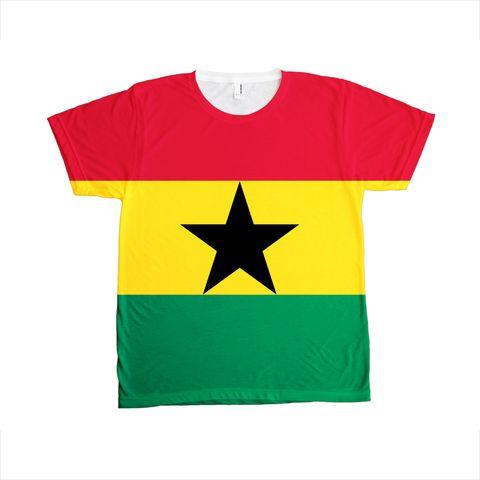 Ghana Flag T-SHIRT - Unisex