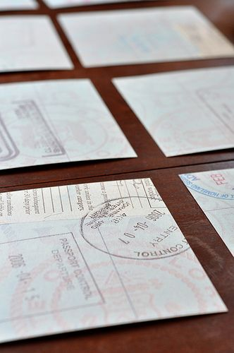 An idea of something to do with my old passport...hmmm...what other ideas are out there?
