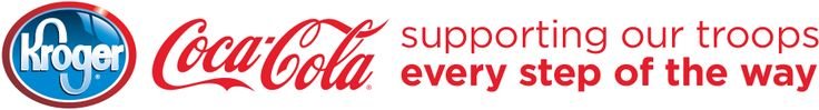 Kroger & Coca-Cola Supporting Our Troops Every Step of the Way. Click on the link, repin, and donate a Coke to share with America's troops!