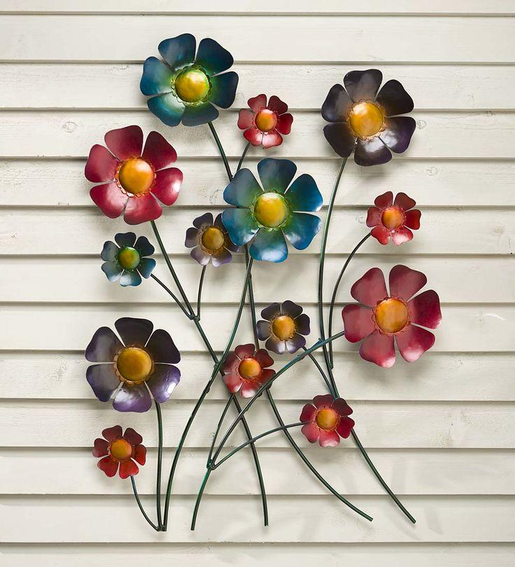 Metal Flower Wall Art | Metal Wall Art