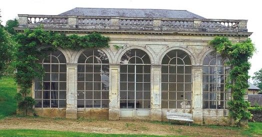 orangerie saint gervais greenhouse conservatory serre invernadero pinterest gardens. Black Bedroom Furniture Sets. Home Design Ideas