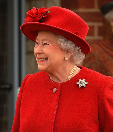 Queen Elizabeth, January 29, 2014 | The Royal Hats Blog-Queen Elizabeth opened the new Village Hall in Norwich