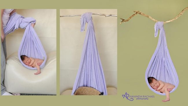 Newborn Photography Props Love how they show this shot done safely :)