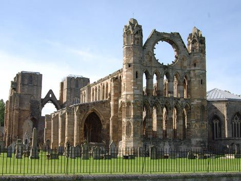 Elgin Cathedral  25 Unusual & Fun Things to Do in Scotland: http://www.europealacarte.co.uk/blog/2010/12/30/things-to-do-in-scotland/