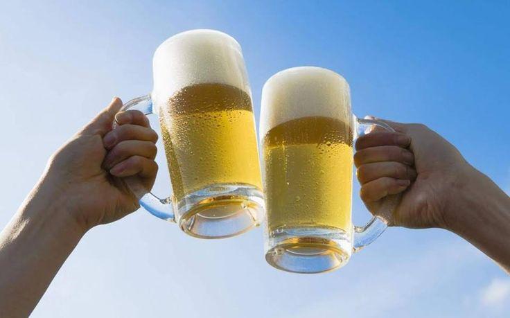 Καλοκαίρι ήλιος και ζέστη. Τι καλύτερο από μία παγωμένη μπύρα για να σας δροσίσει????  #Τηγανιές& #Σχάρες #Ψητοπωλείο #Θεσσαλονίκη #Delivery #online_order