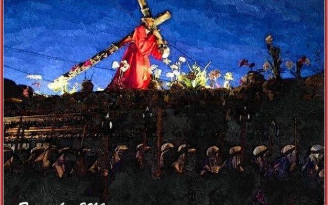 """Elaborazione grafica - Sulla via del Calvario Nella sua poesia preghiera Caterina Siclari scrive: """"Quando il peso della croce si fa insostenibile e cado, soltanto allora sono sicura di seguirti, mio Signore."""" E' la certezza di percorrere la gius #elaborazionegrafica #poesia #preghiera"""