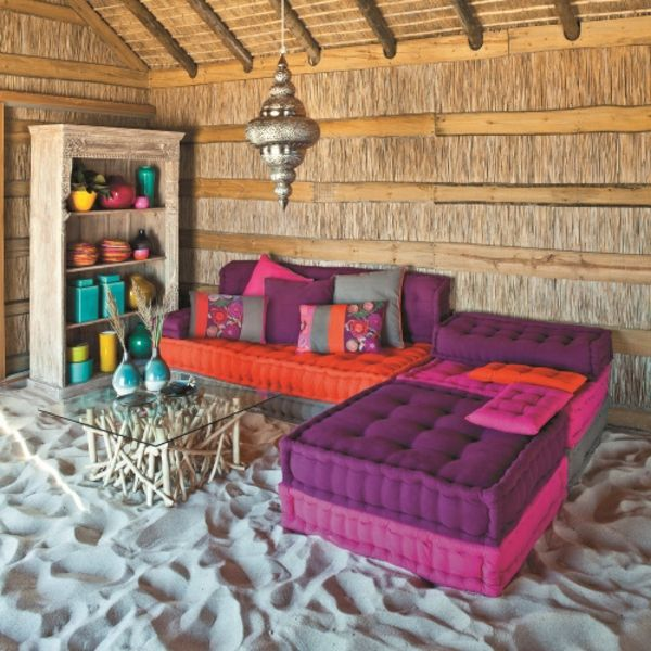 Tropical living room, DesignMag.Fr. http://www.kenisahome.com/blog