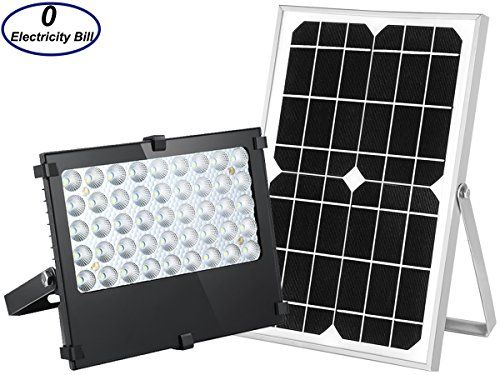 Solar Flood Light Solar Powered Lights Auto ON OFF Outdoor All Purpose Solar Panel Lights Solar Lights Outdoor for Yard Garden House Patio Garage Driveway Path Sign Pool Lawn Barn.