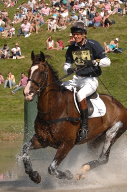 William Fox-Pitt and Moon Man: cross-country at Gatcombe 2007