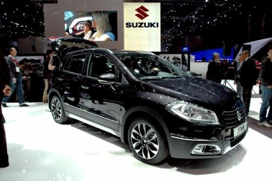 Suzuki SX4 S-cross #Cars #GenevaMotorShow