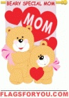 applique Love Mom House Flag - 1 left