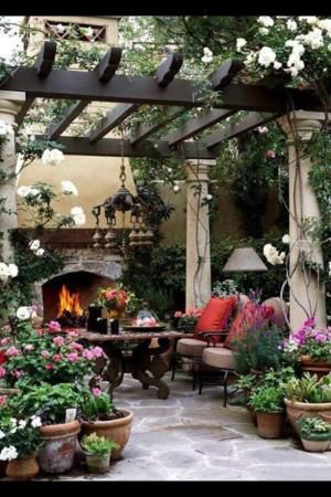 Outdoor space by estelle