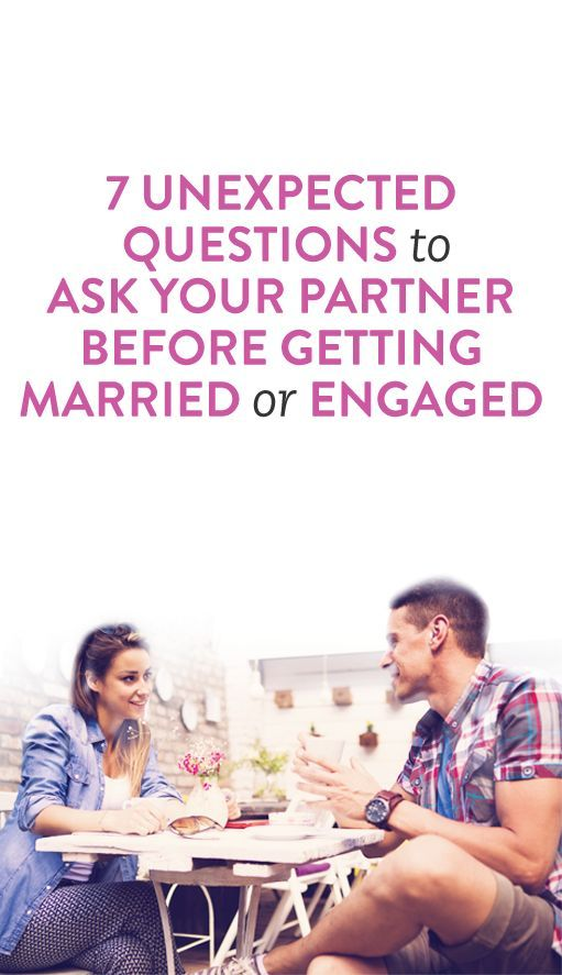 what to ask your partner before you get engaged or married #relationships