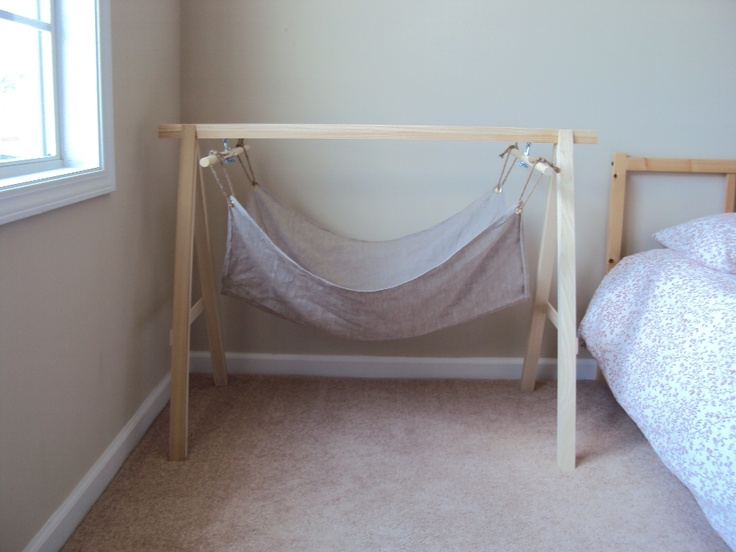 Handmade Ancient Baby Hammock (Front-On) ♡ by AncientMommy.com ♡