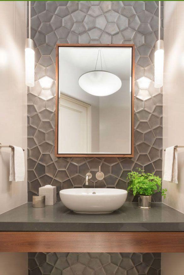 59 Phenomenal Powder Room Ideas Half Bath Designs Home Accessories Blog Accessories In 2020 Powder Room Ideas Half Baths Modern Powder Rooms Modern Bathroom Design