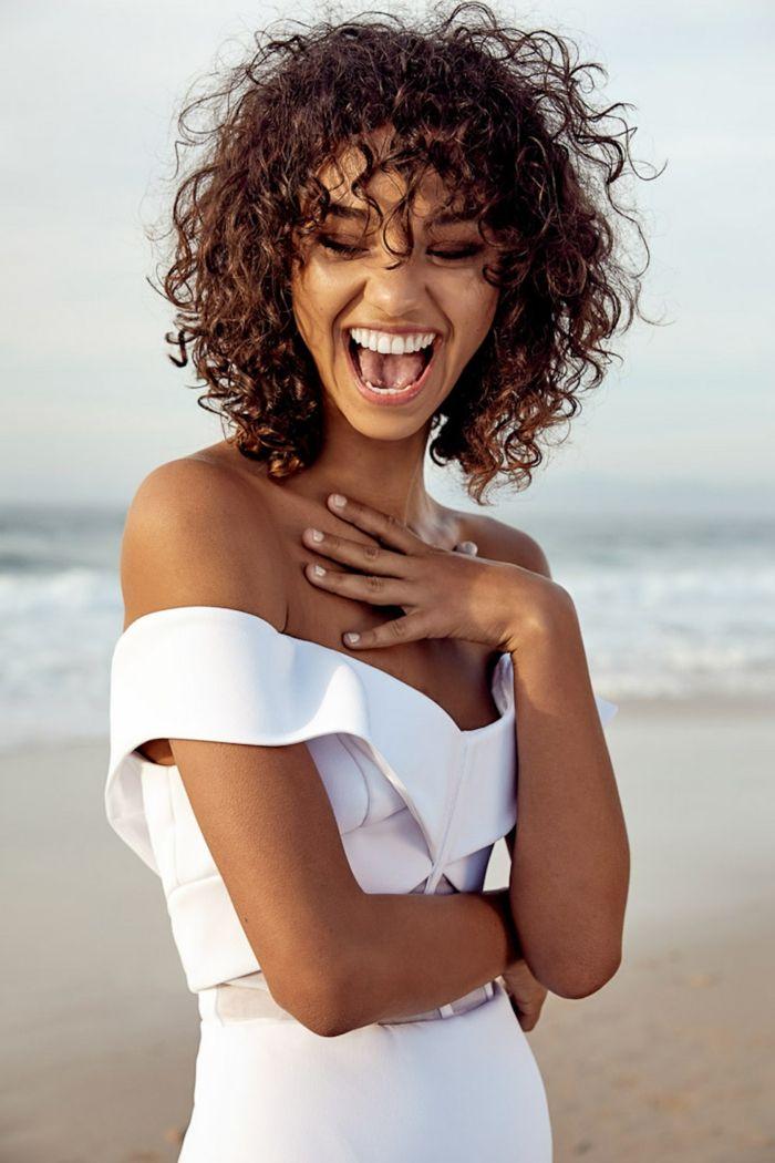 1001 + ideen für kurzhaarfrisuren für lockiges haar in