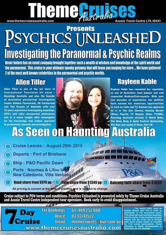 Eidolon Paranormal: Psychics Unleashed : Investigating the Paranormal ...
