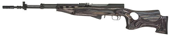 Tapco SKS Thumbhole Stock- Right Handed / The SKS Thumbhole stock is the next level of premium craftsmanship.  With an integrated cheek rest, a precision fit recoil absorbing rubber buttpad, a perfectly contoured thumbhole, and an added forend gripping ridge, this stock stands alone as the best wooden stock on the market.  As with all TimberSmith products, this stock is 100% crafted in the U.S.A. and counts as 2 922r compliance parts.  Left handed model also available