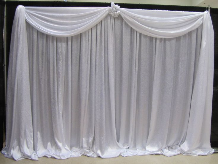 Portable Pipe And Drape Trade Show Booth Widely Used For Food Festivals Home Shows