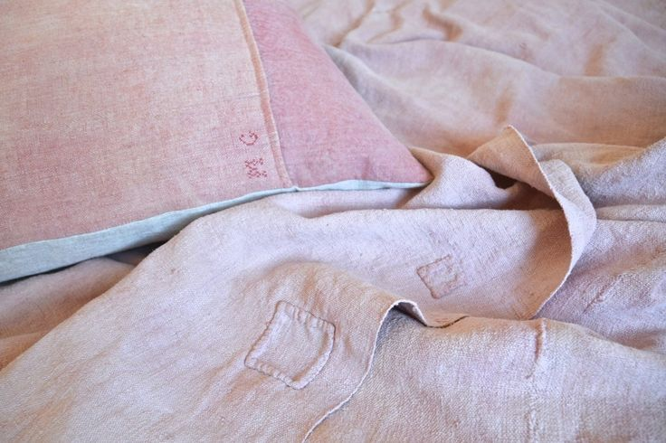 Almond Blossom Pink Bed Cover: Remodelista