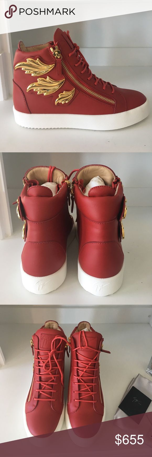 Giuseppe Zanotti sneakers Authentic and new. Original box and dust bag included. 44EU Giuseppe Zanotti Shoes Sneakers