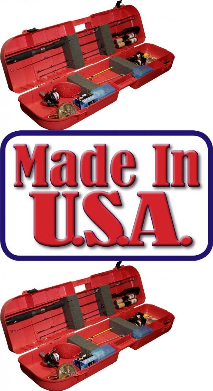 Ice Fishing Rods 179947: Ice Fishing Rod Box (Red) Large Mtm Comfortable Handle Sporting Outdoor Hobby -> BUY IT NOW ONLY: $43.99 on eBay!